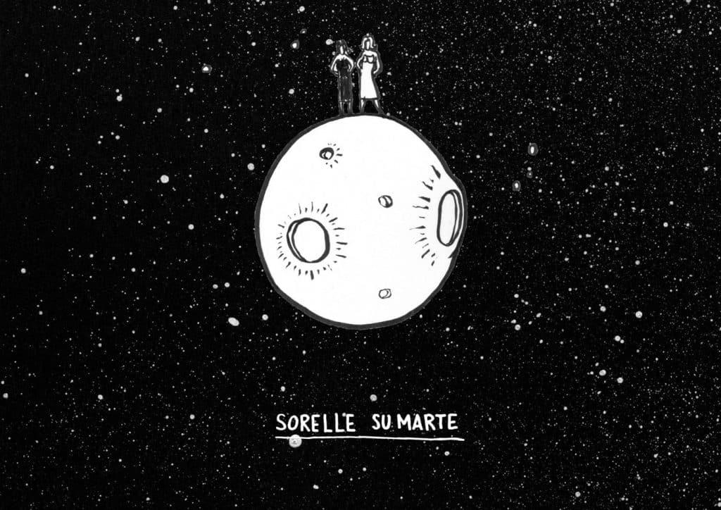 storia del logo - Sorelle su Marte scketch2 - La storia del logo