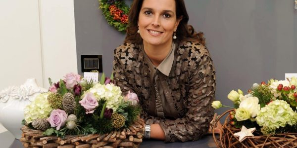 maria luisa rocchi - DR1 0121 1 600x300 - Maria Luisa Rocchi Flowers, l'arte dei fiori nel nuovo spazio ai Parioli