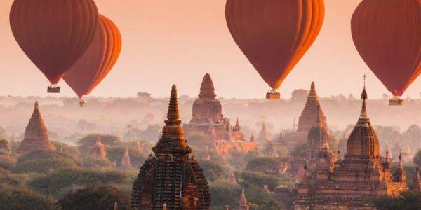 birmania - MONGOLFIERE 600x300 - Birmania: in mongolfiera sulla valle dei templi di Bagan