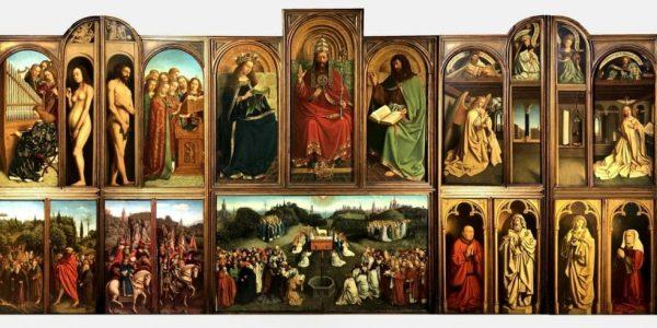 fiandre - Van Eych Polittico Agnello Mistico 1 1024x491 600x300 - Fiandre: l'anno di van Eyck tra mostre ed eventi