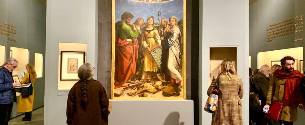 Raffaello - Scuderie del Quirinale raffaello - IMG 9433 978x400 - Raffaello: alle Scuderie del Quirinale la grande mostra