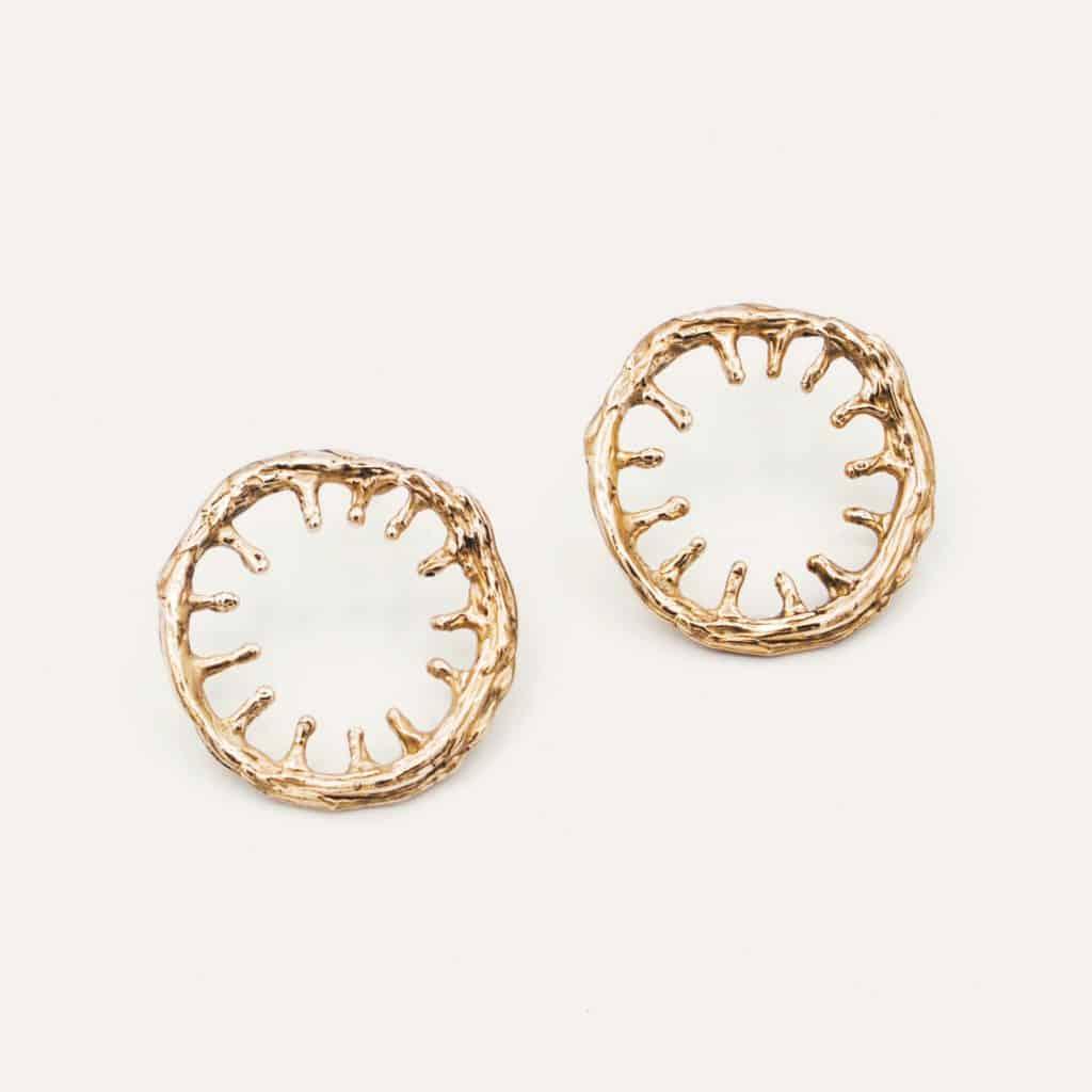 Devi Petti - Orecchini devi petti - Acetabularia Earrings B 1024x1024 - Devi Petti: arte, natura, gioielli