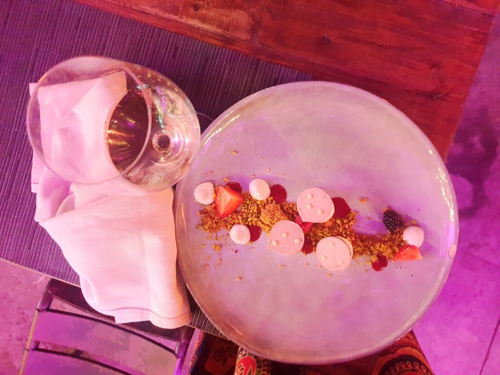 Mediterraneo - Cheesecake al Mediterraneo mediterraneo - 20200702 012438 - MEDITERRANEO a Roma: il ristorante dell'estate nel giardino del MAXXI