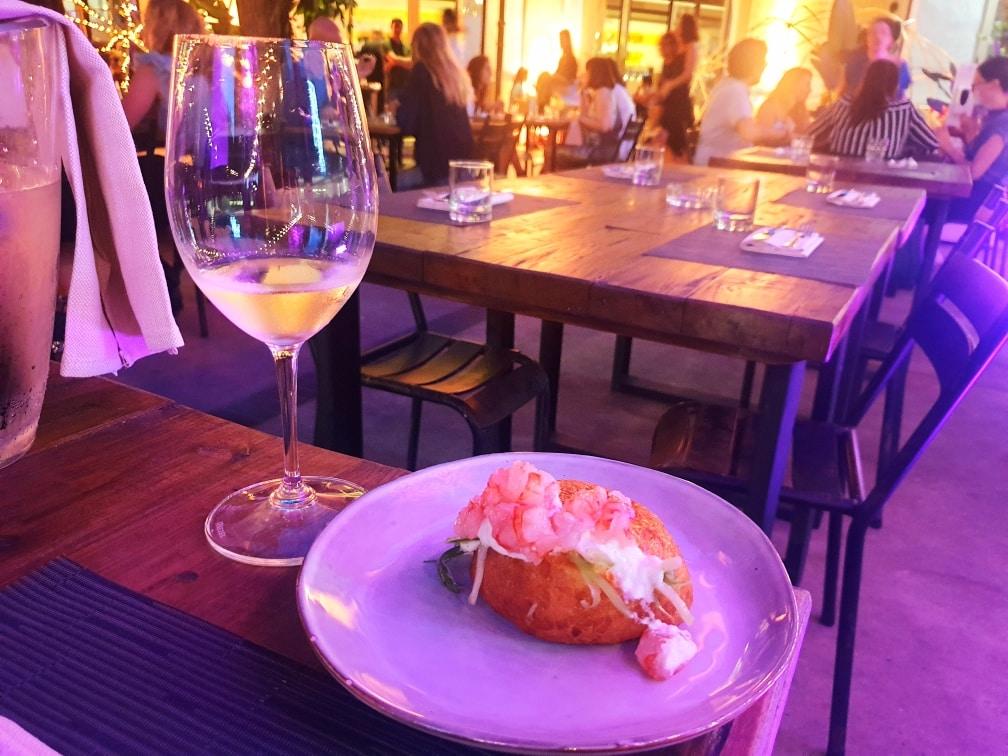 Mediterraneo - Maritozzo salato mediterraneo - 20200702 012659 - MEDITERRANEO a Roma: il ristorante dell'estate nel giardino del MAXXI