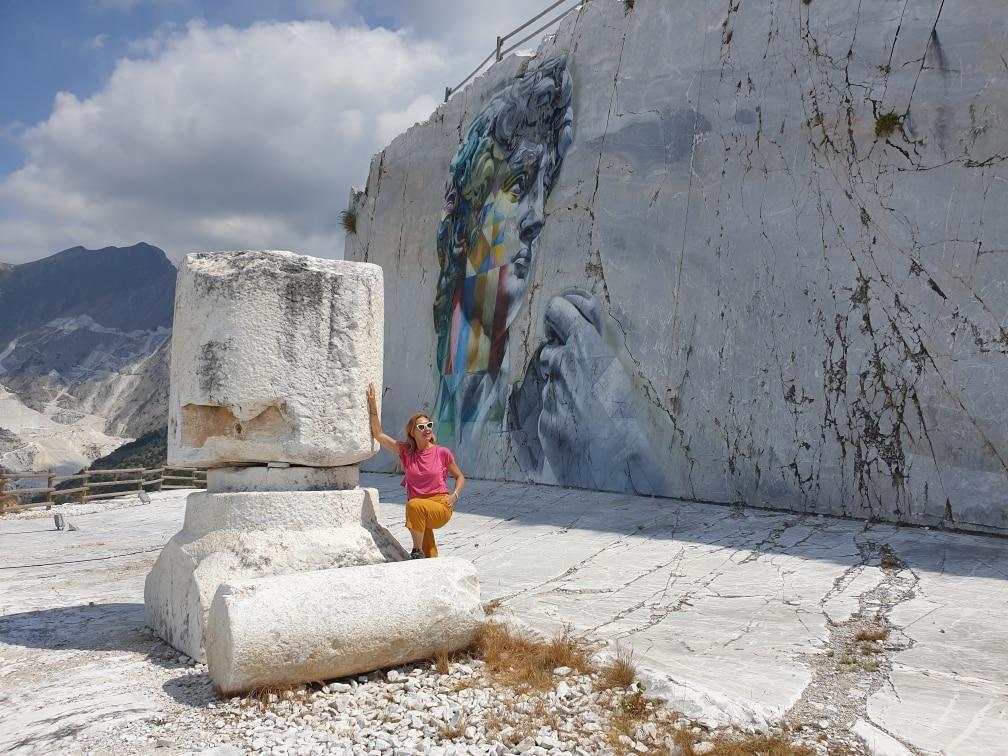 Carrara - Cava Gioia, David di Kobra carrara - 20200715 114718 - Carrara: viaggio nella storia millenaria del marmo