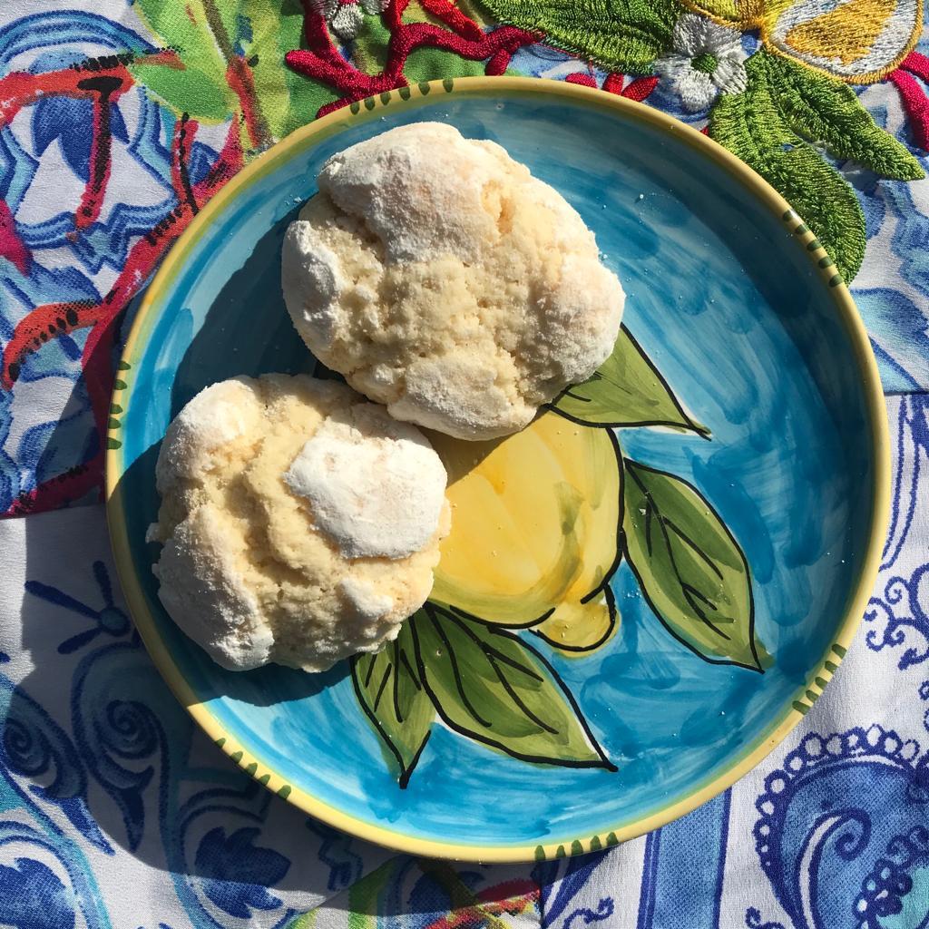 Penisola sorrentina - Ceramica artistica Sorrentina e pasticcini al limone di Maria Luisa Russo