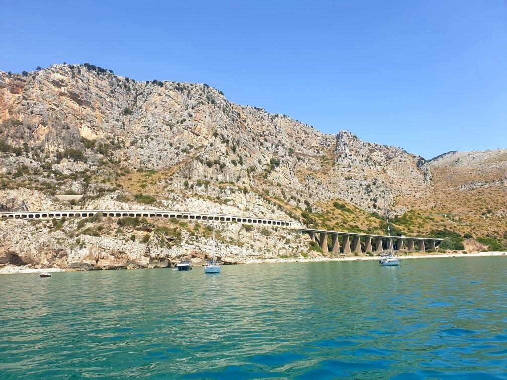 Gaeta: il litorale e la Via Flacca