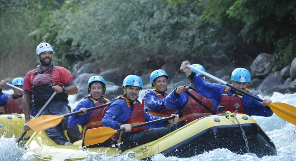 Trentino - Rafting sul fiume Noce trentino - 20200922 160704 1024x557 - Trentino: benessere con il forest bathing a Fai della Paganella