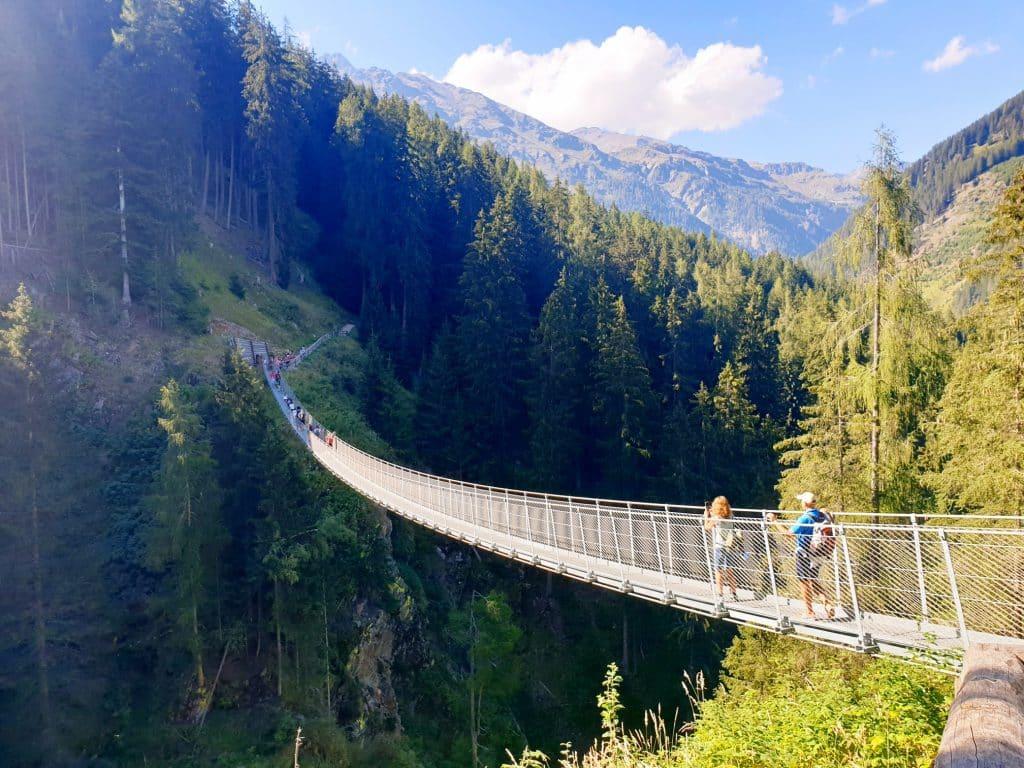 Trentino - Ponte tibetano in Val di Rabbi trentino - 20200922 161008 1024x768 - Trentino: benessere con il forest bathing a Fai della Paganella