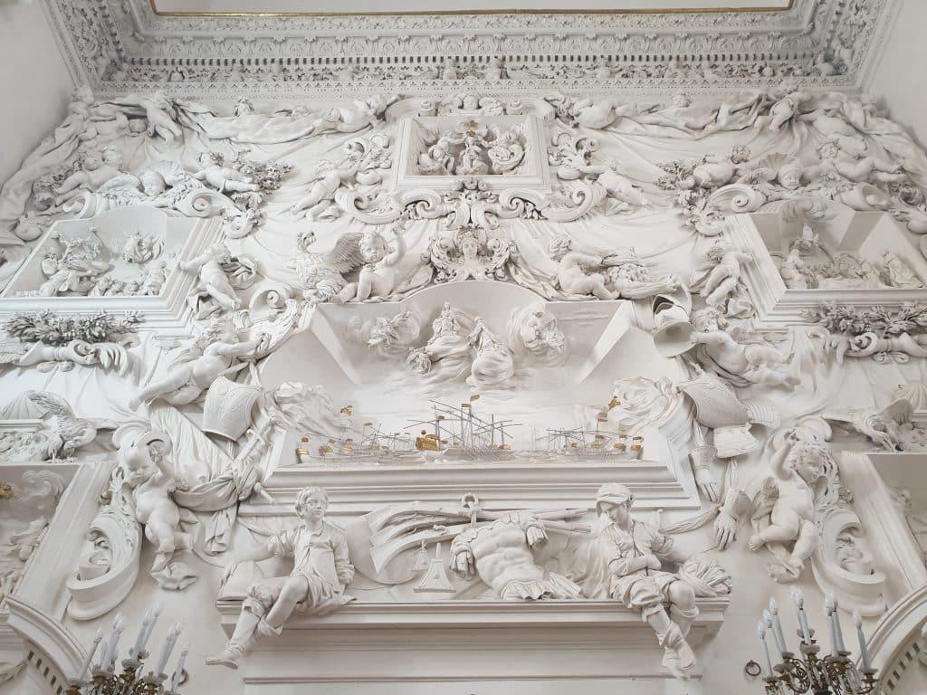 Sicilia - Palermo, Oratorio di S. Cita: gli stucchi di Giacomo Serpotta