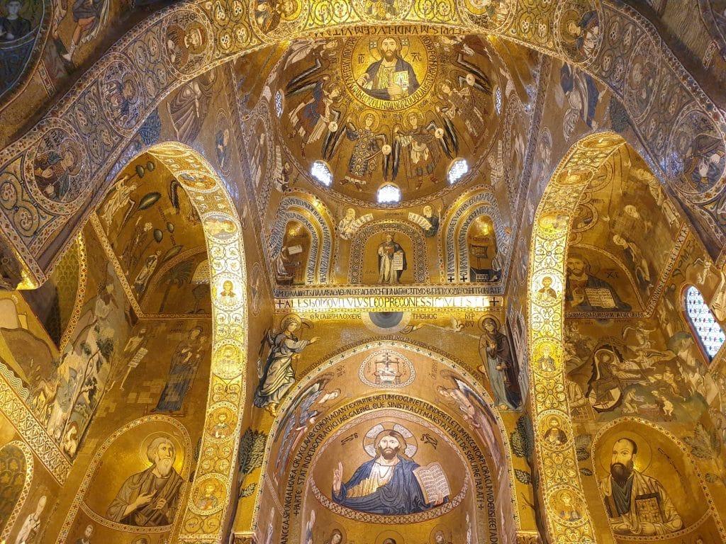 Sicilia - Palermo, i mosaici della Cappella Palatina