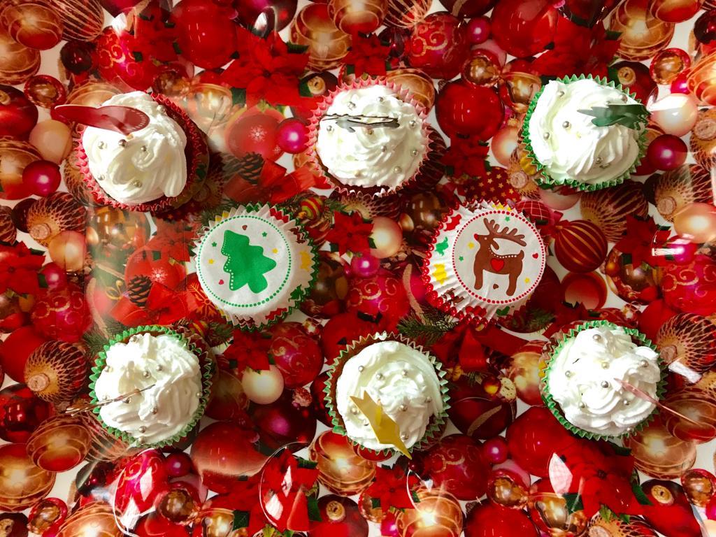 Natale 2020 - Cupcake natalizi