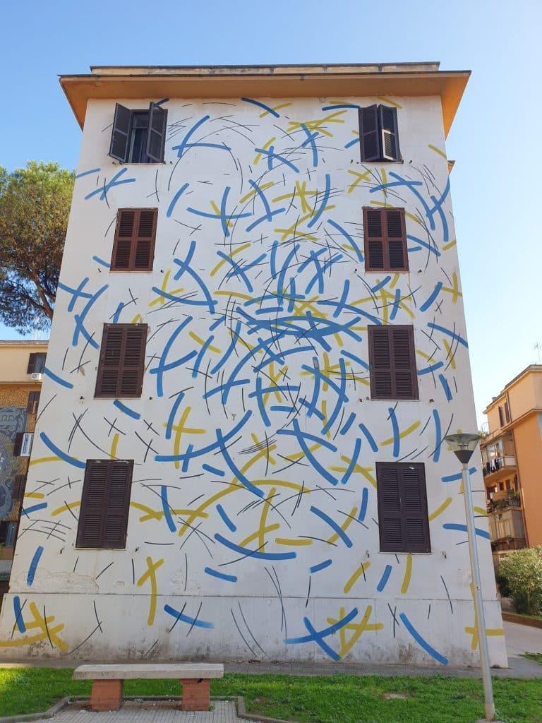 Street art - Museo Condominiale Tor Marancia