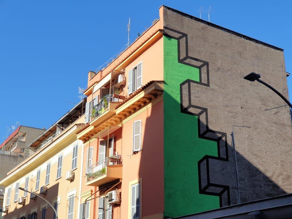 Street Art - Tape Art a Torpignattara