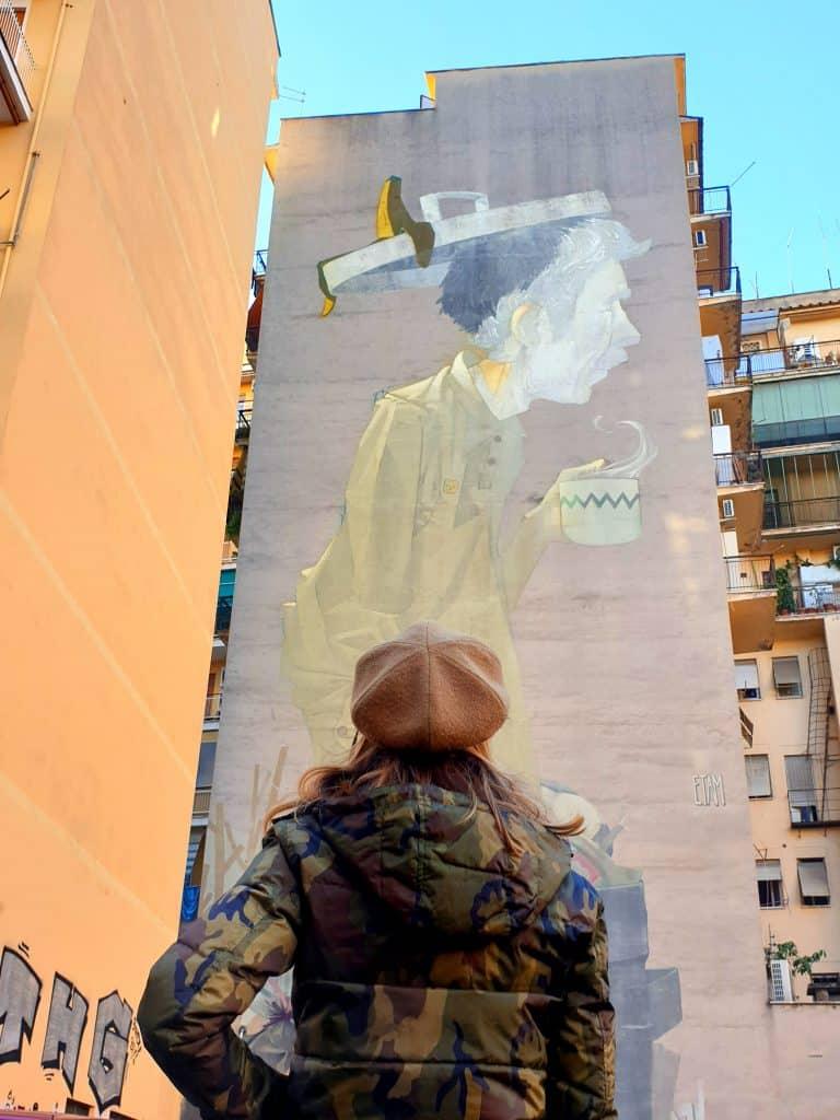 Street Art - Etam Cru a Torpignattara