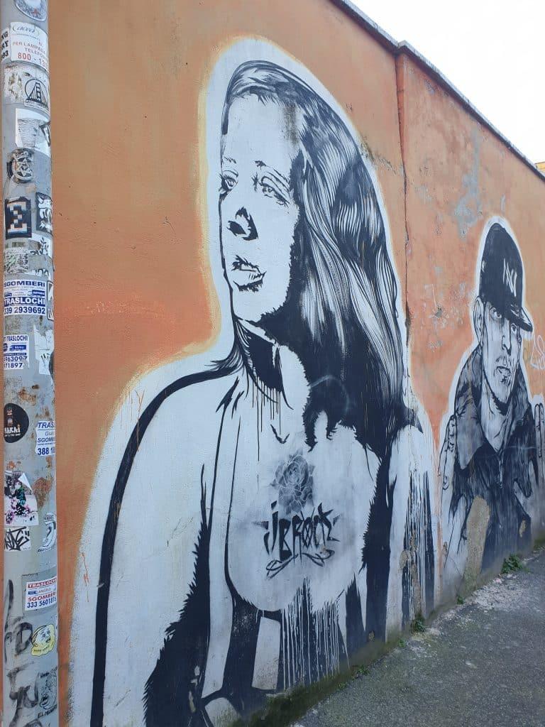 Street art - Walk of fame di Ostiense