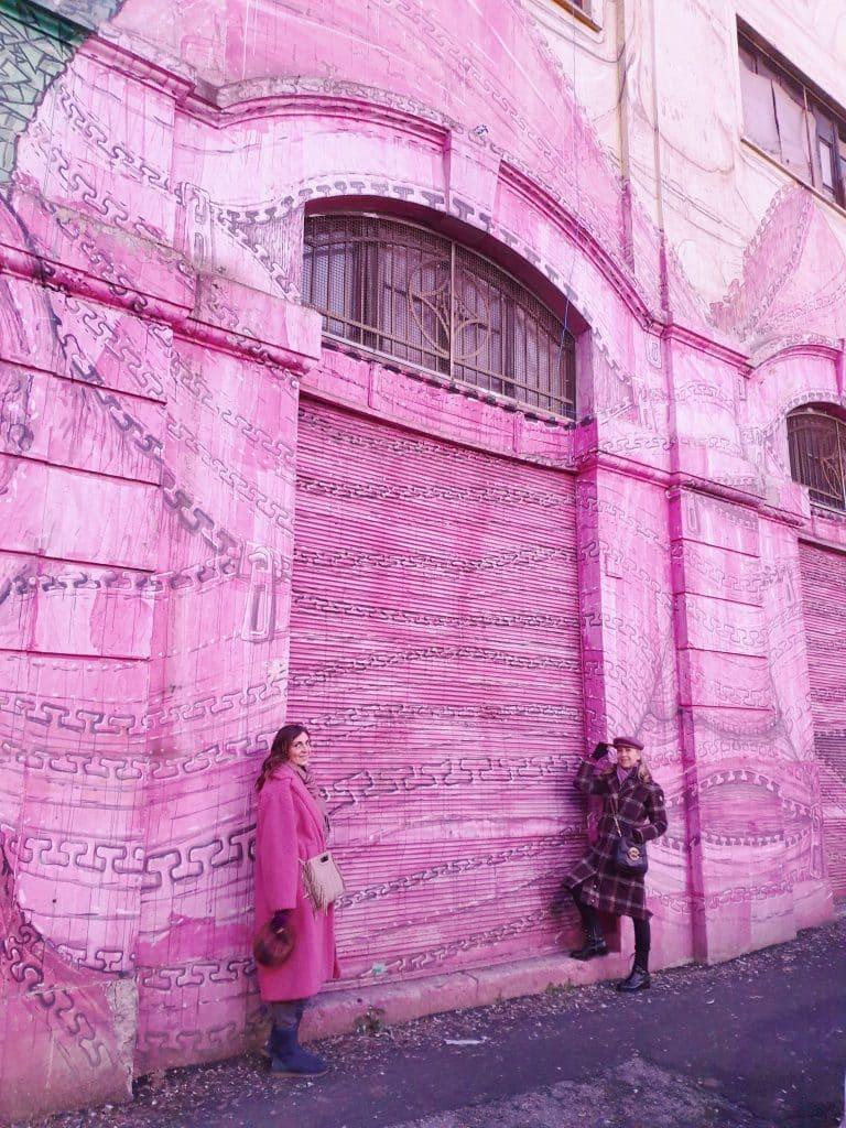 Street art - Il murale di Blu a Ostiense