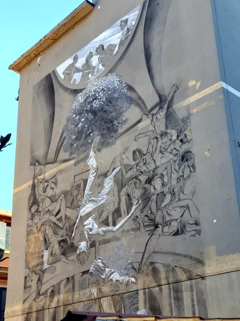 Street Art - Cappella Sistina di Nicola Verlato