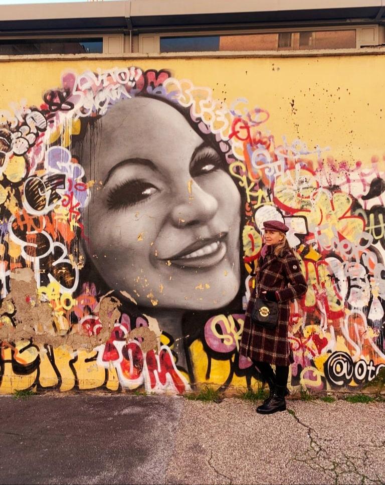 Street art - Otam a via delle Conce - Ostisense District