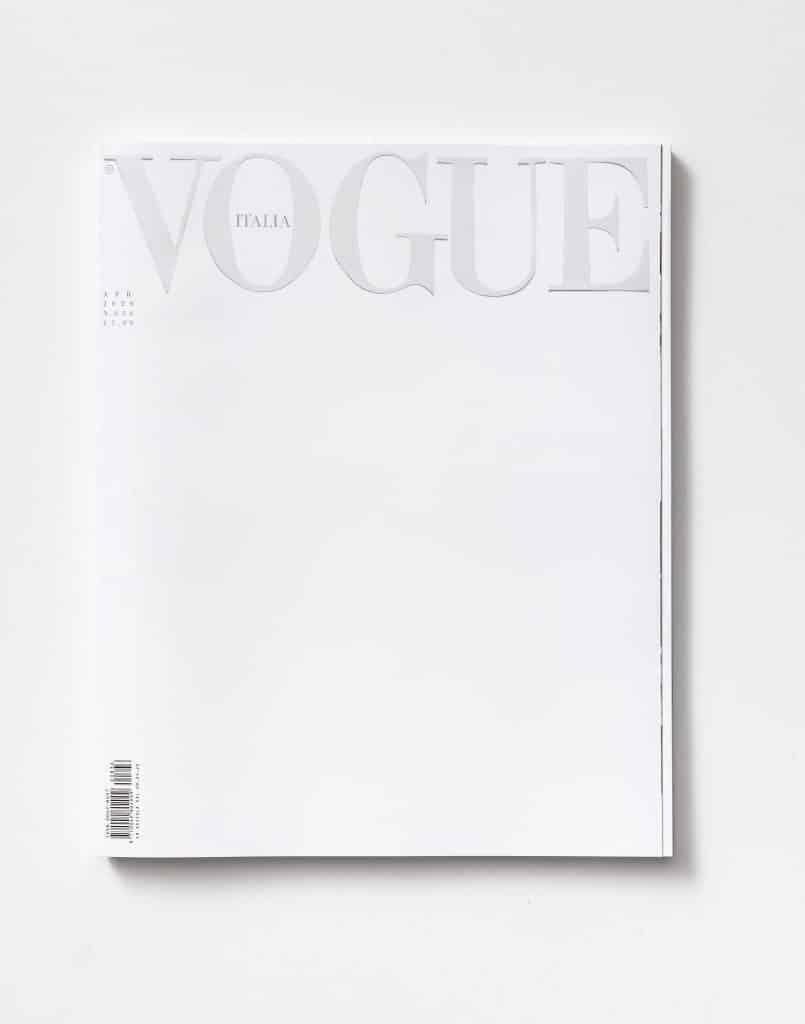 Vogue - Copertina bianca