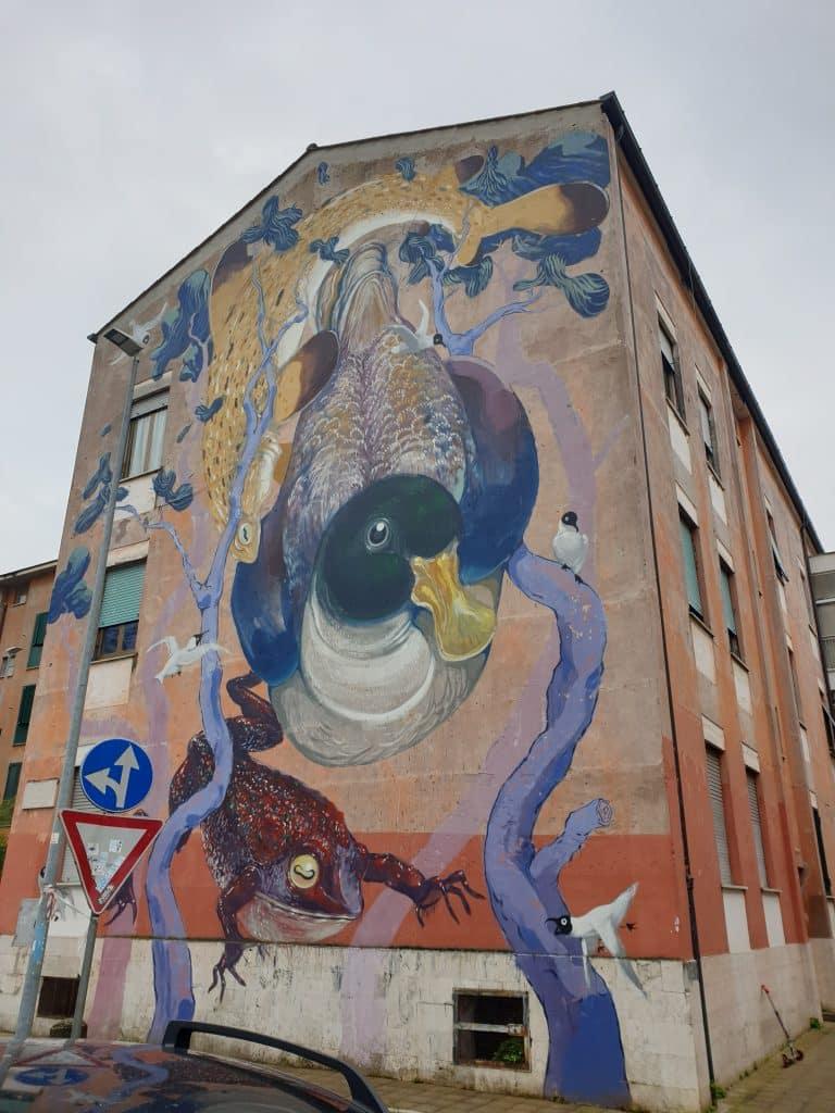 Street Art a San Basilio - Hitnes