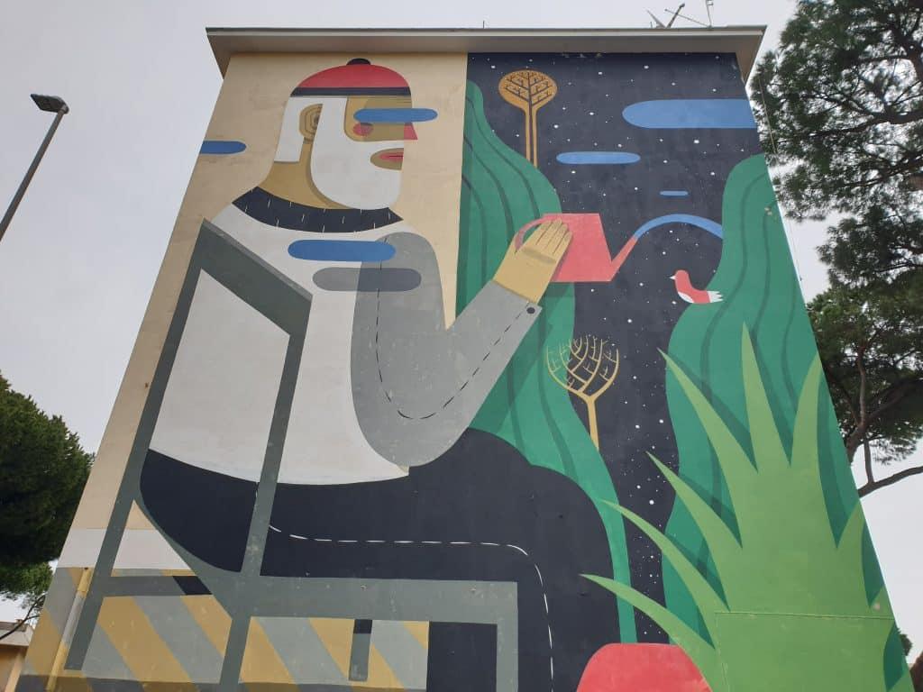 Street Art a San Basilio  - Agostino Iacurci