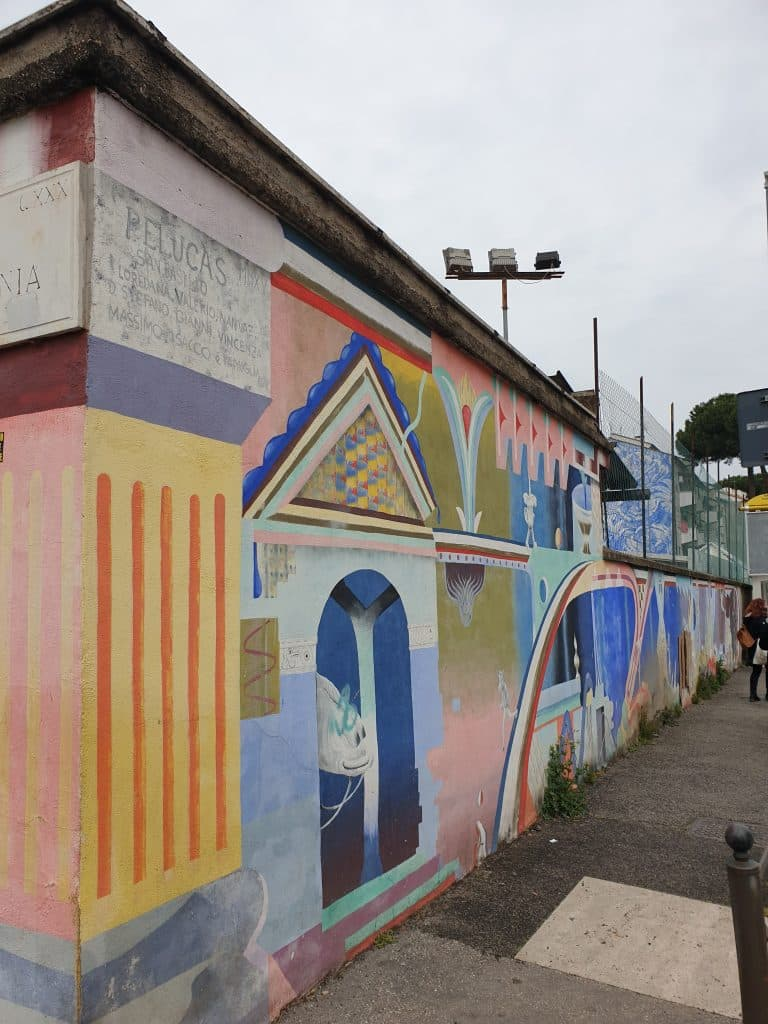 Street Art a San Basilio : muralismo espanso