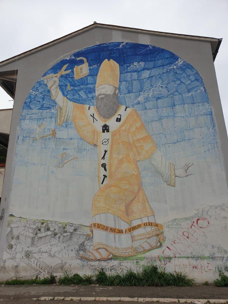 Street Art a San Basilio  - Blu
