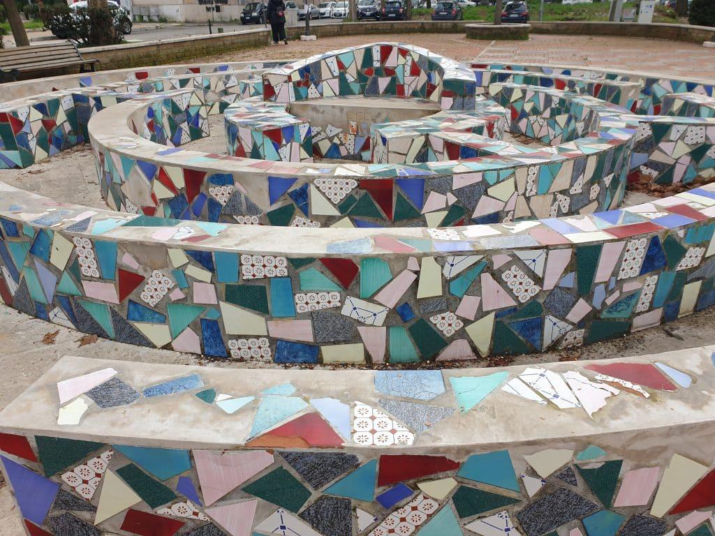 Street Art a San Basilio - Il labirinto