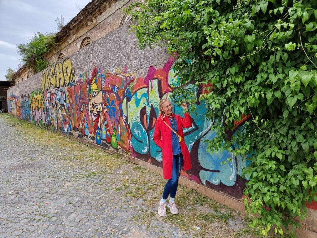 Street art - Ex mattatoio a Testaccio
