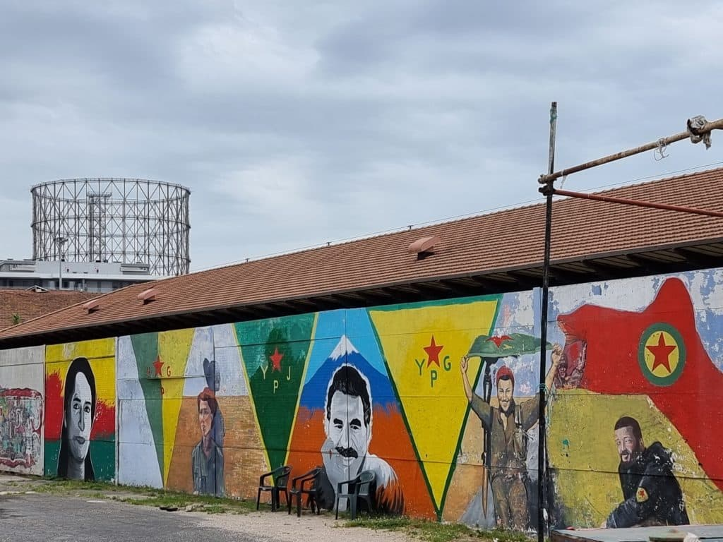Street art a Testaccio