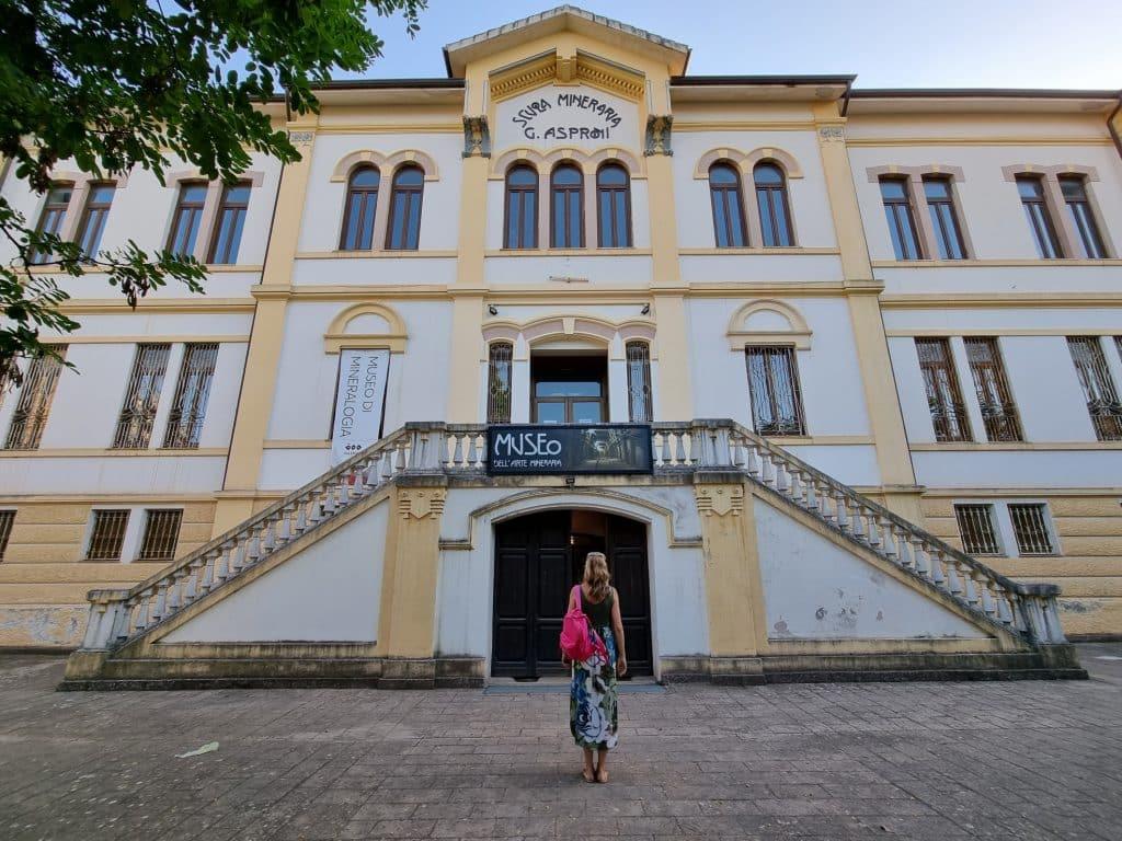 Sardegna - Museo dell'arte mineraria a Iglesias